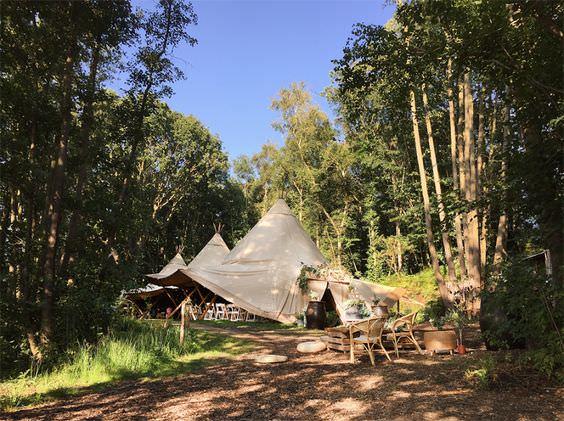 Tipi wedding - namiot na wesele